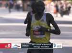 Kimetto set the course record in Chicago last year
