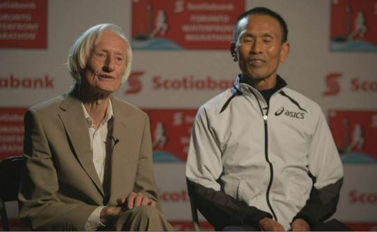 Ed Whitlock and Yoshihisa Hosaka.