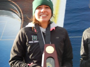 Abbey D'Agostino won NCAA title #5 in the fall. #8 comes this week in Eugene.