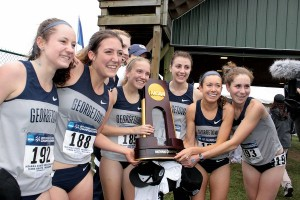 The Georgetown women surprised two years ago.