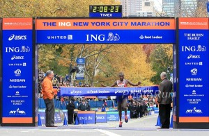 Geoffrey Mutai Wins The 2013 New York City Marathon