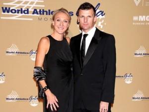 Paula Radcliffe and Gary Lough 2013 IAAF Awards