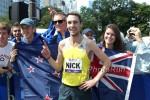 Nick Willis After Winning 2013 Fifth Avenue Mile