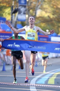 Nick Willis Wins 2013 NYRR Dash to the Finishline. (Click for Photo Gallery)