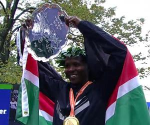 Priscah Jeptoo 2013 ING NYC Marathon Champion