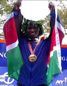 Geoffrey Mutai, the 2013 New York champion