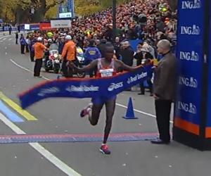 Geoffrey Mutai Wins NYC 2013