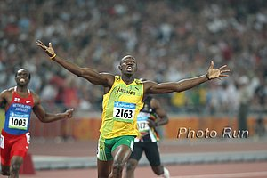 """44.0% of votes thought Usain Bolt is """"dirty"""""""