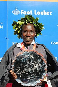 Edna Kiplagat After Winning NYC in 2010