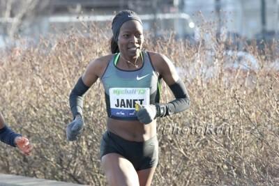 Janet Bawcom at 2013 NYC Half Marathon