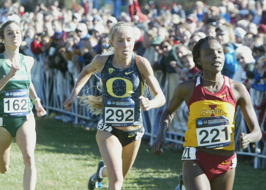 Hasay came up just short in her last xc race at the 2012 NCAA Champs. *More 2012 NCAA XC Photos