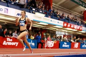 Kim Conley 4:24.54 Armory Record!