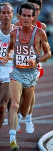 Craig Virgin at the 1984 Olympics (Creative Commons 1.0)