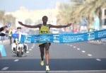 Tsegaye Mekonnen wins. Photo by Giancarlo Colombo / photorun.net.