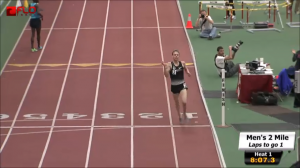 Galen Rupp sets the AR