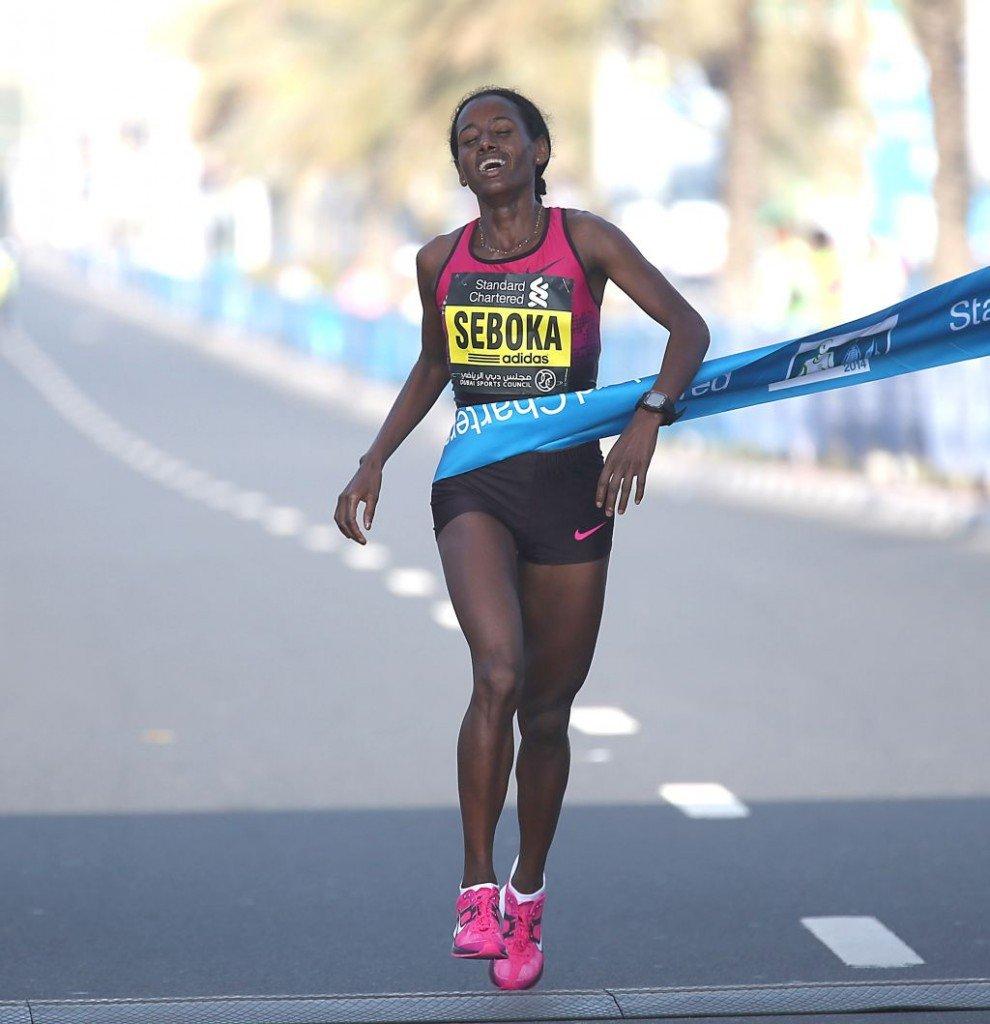 Mula Seboka wins. Photo by Giancarlo Colombo / photorun.net.