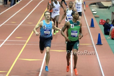 Duane Solomon Edges Erik Sowinski in 600 at the New Balance Games