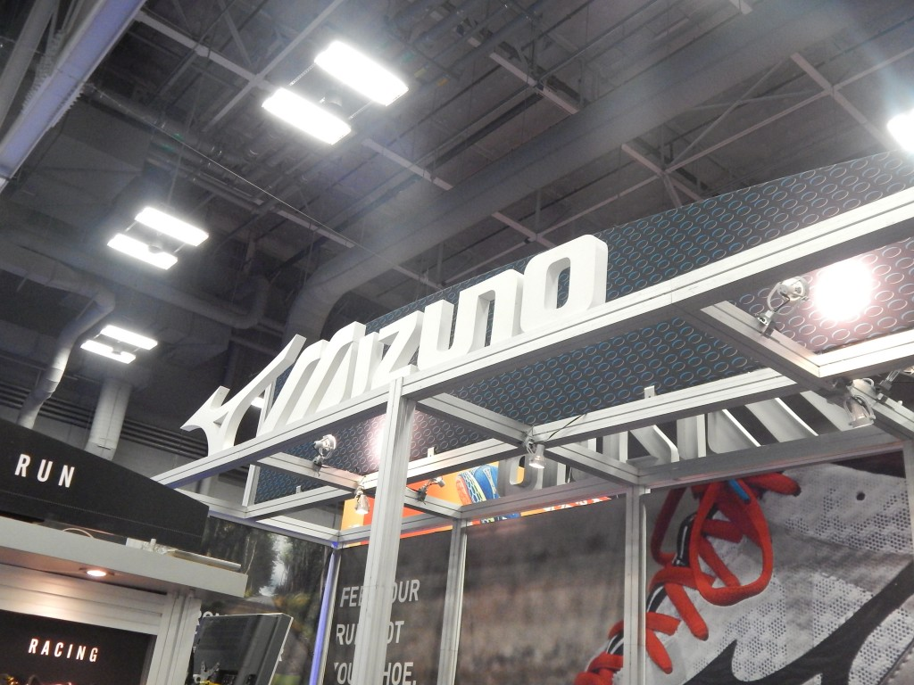 Mizuno Booth at TRE