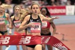 Mary Cain World Junior 1000m Record in Boston
