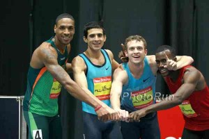 The 4x800 world record was set in a crazy race in Boston in 2014