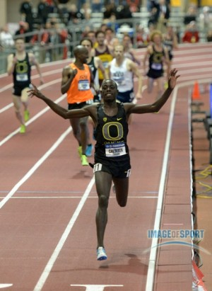 Cheserek swept 3k/5k titles as a freshman two years ago and will be favored to do the same this weekend