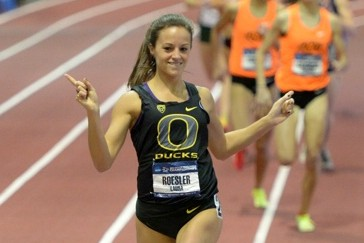Roesler made it look easy at NCAA Indoors in March.
