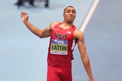Ashton Eaton is the #1 favorite