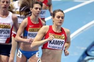 Heather Kampf at World Indoors