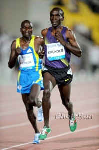 Eliud Kipchoge has transitioned really well from the 5000 to the marahton