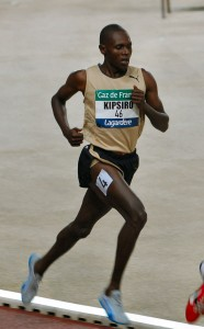 Moses Kipsiro in Paris in 2010