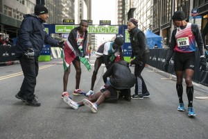 It Has Been a Strange ear for Mo Medically As He Passed Out at the NYC Half Too