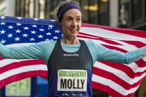 Molly Huddle After Her Debut