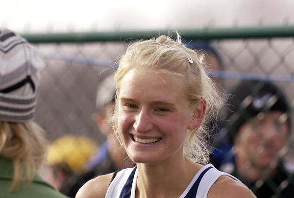Johanna Smiles After Winning The 2005 NCAA Cross Country Championships (Photo by Randy Miyazaki, TrackandFieldPhoto.com,  More Photos from 2005 NCAA Champs Here)
