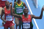 Ndiku Over Lagat For World Indoor 3000m title