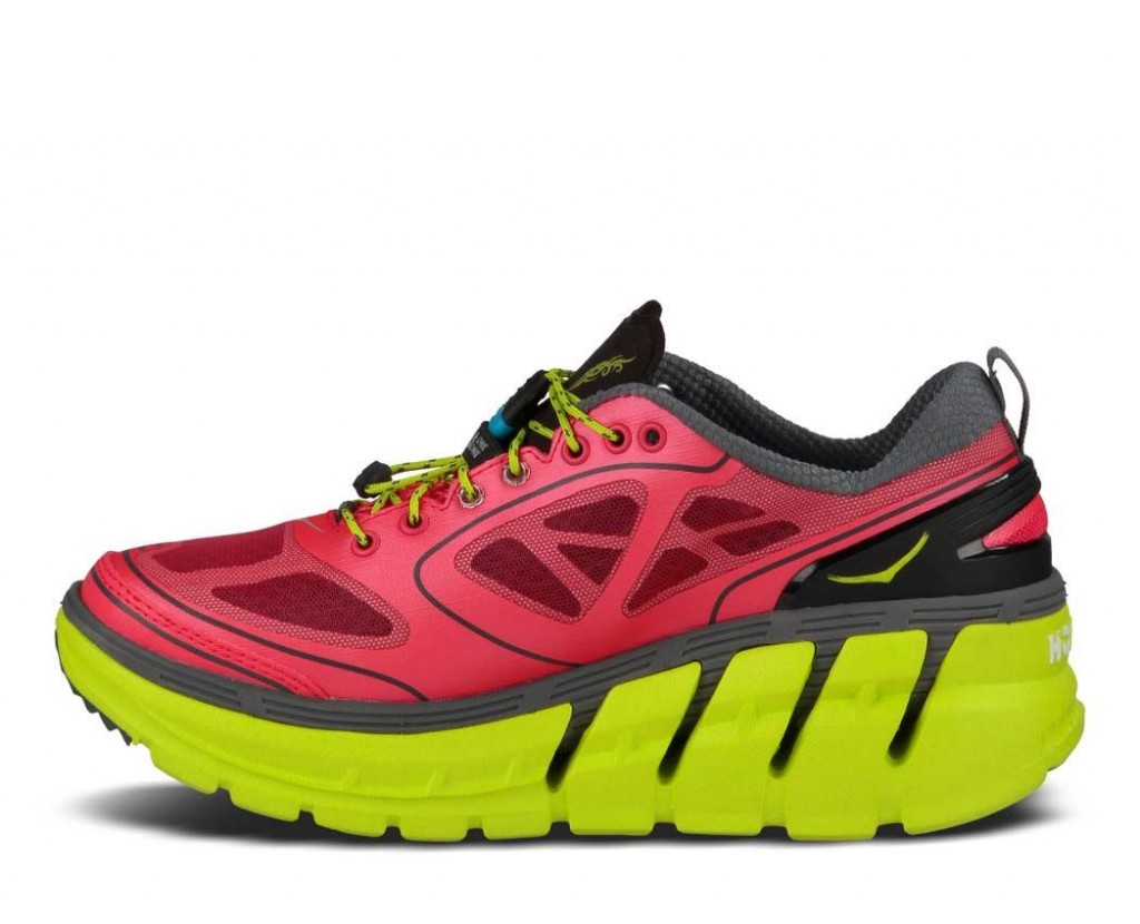 Hoka One One's shoes may look bizarre but Leo likes they way the feel