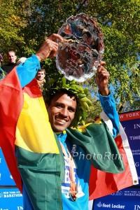 Gebre Gebremariam won New York in 2010