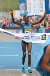 Joyce Chekpirui wins 2014  Sportisimo Prague Half Marathon. Photo by Photorun.net