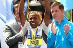 When Meb won his marathon majors, he beat legitimate fields