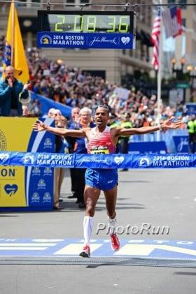 Photo Gallery Here: https://www.letsrun.com/photos/2014/meb-wins-boston-marathon/index.php