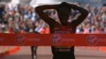 Edna Kiplagat wins the 2014 Virgin Money London Marathon