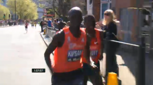It came down to be a Kipsang and Biwott fight after 30k