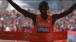 Wilson Kipsang wins 2014 London Marathon