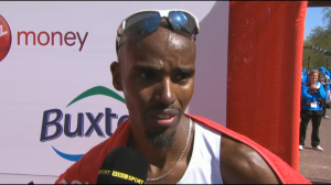 Good post-race interview Mo