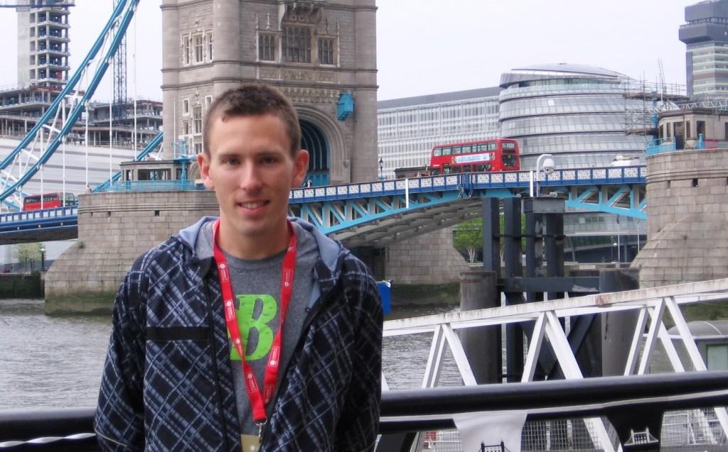 Ryan Vail in London (Photo by David Monti/RRW)