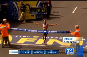 Meb Wins the Bosotn Marathon (More Photos Coming)