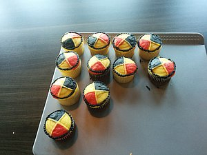 The Brooks Hasons themed cupcakes were delicious