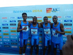 Bermuda Impressed Early in the 4x800 (Aaron Evans is on the OTC)
