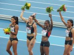 Gold for the USA. Check back tomorrow for full photo gallery.