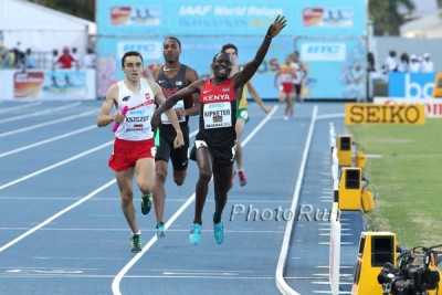 Kipketer anchored Kenya to World Relays gold in May.