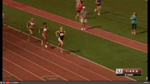 Maggie Vessey had a gap on Martinez very late